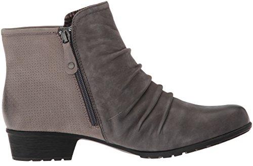 Ankle Black Women's Boot Gratasha Nubuck Panel Dark Cobb Hill Grey xIwBqIF