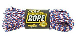 75ft Heavy Duty Braided Rope, 1/2-inch Thick (Random Color)