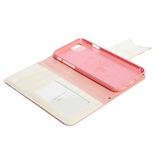 Happymori Reason Type Diary Case for iPhone 6 (Pink)