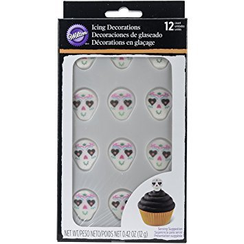 Wilton 710-6030 Deadly Soiree Royal Icing Decoration, (Halloween Soiree)