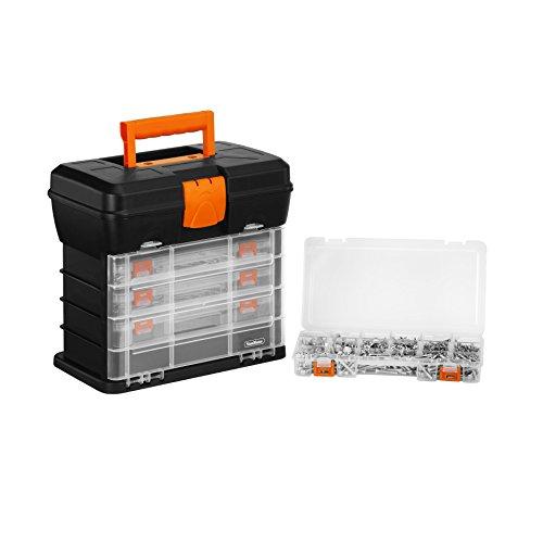 Vonhaus Very Small Utility Tool Storage Box Portable