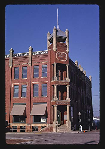 - HistoricalFindings Photo: The State Capitol Building (1902),2nd & Harrison,Guthrie,Oklahoma