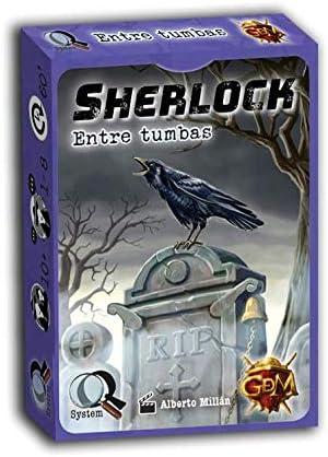 GM Games- Sherlock: Entre tumbas Juego de investigación, Color ...