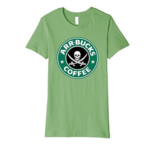 ks Coffee' Pirate T-Shirt XL Grass ()
