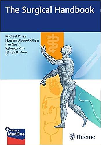The Surgical Handbook [Michael Karsy]