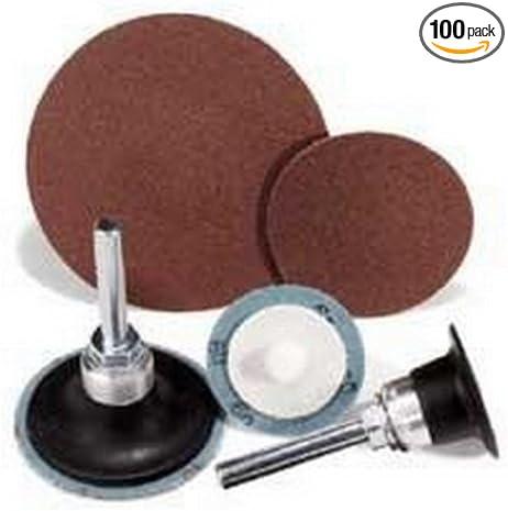 100 Pack United Abrasives-SAIT 50271 SAIT-Lok-R 3AX 2-Inch 36X Laminated Disc