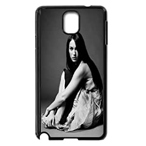 Samsung Galaxy Note 3 Cell Phone Case Black Megan Fox Black And White Z6U2XP