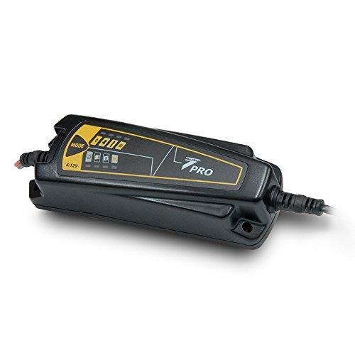 Auto7 708909 chargeur de batterie 4A 12V - 0, 8A 6V - 100% automatique - batterie 1, 2Ah à 120Ah 2Ah à 120Ah