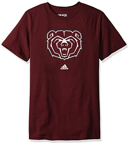 MLS Missouri State University Bears Adult men School Logo S/Tee,Large,Maroon