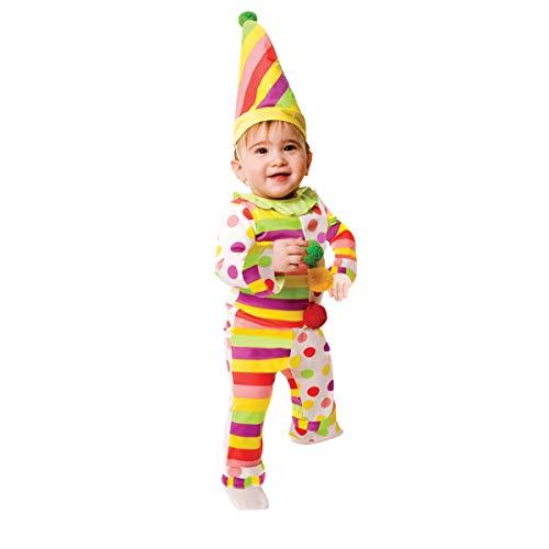 Dress Up America Infant Dots N' Stripes Sweet Clown Costume - 6-12 Months