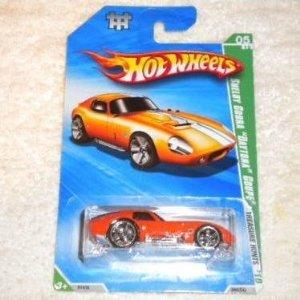 Hot Wheels Shelby Cobra Daytona Coupe 05/12 Treasure Hunts 2010 - Coupe Cobra Daytona