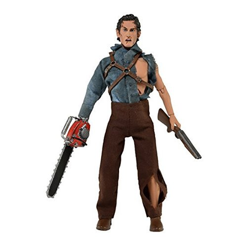 NECA Evil Dead 2 Hero Ash 8 inch Clothed Action Figure