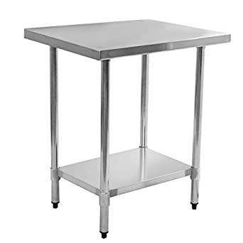 giantex 24 x 36 stainless steel commercial kitchen work food prep table. beautiful ideas. Home Design Ideas