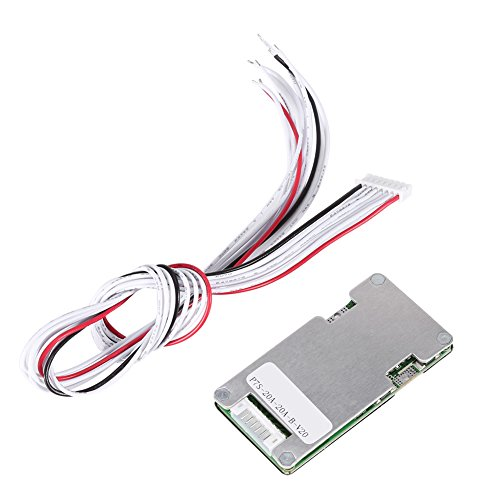 24V 20A 7S Lithium Li-ion LiFePO4 Battery Battery BMS Protection Board with Balancing