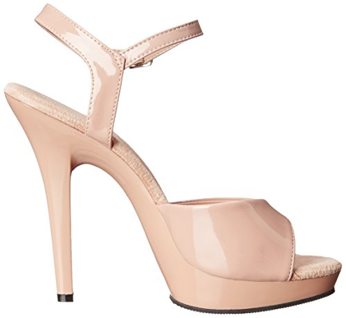 Nude LIP109 Dress M Women Fabulicious Nude ND Sandal Platform 0qRTAx