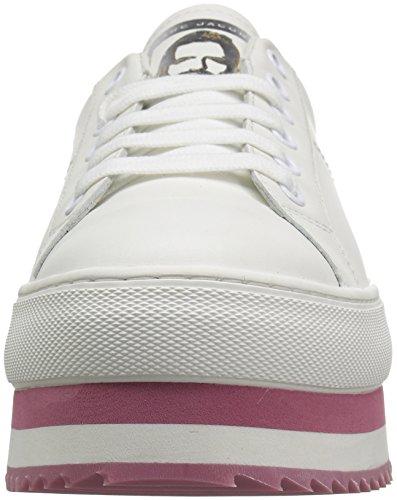 Donne Fino Sneaker Grande Bianco Di Rosa Marc Delle Jacobs Piattaforma Merletto Di zqB1184wnI