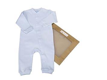cf5d466c Organic Baby Clothes - Les bébés d'Elyséa - Organic Cotton Romper - Blue 3