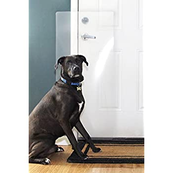 how to fix dog scratches on door frame
