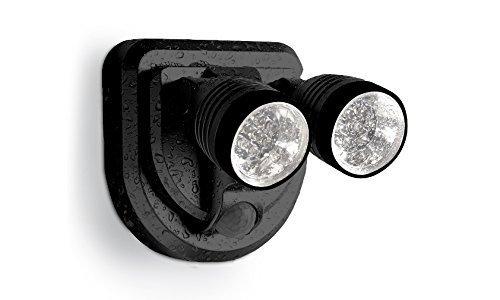 9. Milex LED Spotlight 360 Degree Wireless Weatherproof Motion Detector Lamps (Black)