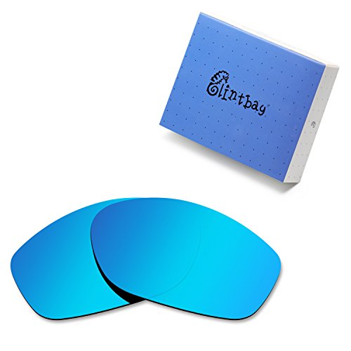 Glintbay 100% Precise-Fit Replacement Sunglass Lenses for Costa Del Mar Fisch - Polarized Ice Blue ()