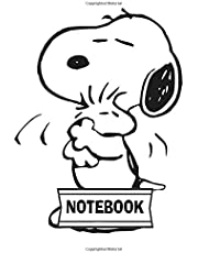"""Notebook: Snoopy : Journal Diary, 110 Lined pages, 7"""" x 10"""""""