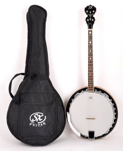 SX Country 4 30G NA Banjo with Bag by SX