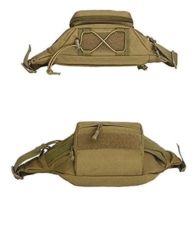 Galopar esterno Camping Marsupio Sport impermeabile Marsupio con Kettle tasche Laufen in Eco Pelle Pouch Borsa da cintura per Escursioni e ciclismo campeggio viaggio arrampicata