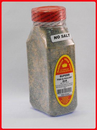SUPERB FISH & POULTRY RUB NO SALT