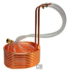 Copper Immersion Wort Chiller, 25ft x 3/8in
