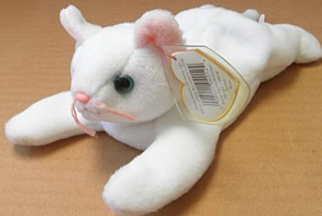 7fab1939258 Image Unavailable. Image not available for. Color  TY Beanie Babies Flip  the Cat Plush Toy ...