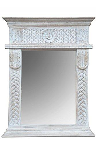 Orient Spiegel Wandspiegel Fahime 86cm Gross Weiss Grosser