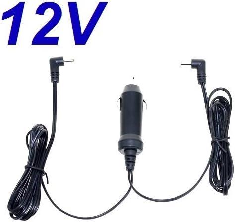 CARGADOR ESP ® Cargador Coche Mechero 12V Compatible con Reemplazo Reproductor DVD Energy Sistem Energy Mobile 472 Dual Screen 7