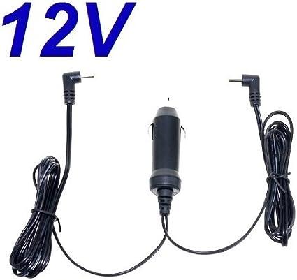 CARGADOR ESP ® Cargador Coche Mechero 12V Reemplazo Reproductor DVD Energy Sistem Energy Mobile 472 Dual Screen 7