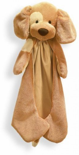 Gund Baby HuggyBuddy - Collections (Spucky Lt. Brown) Comfy Cozy Blue Puppy