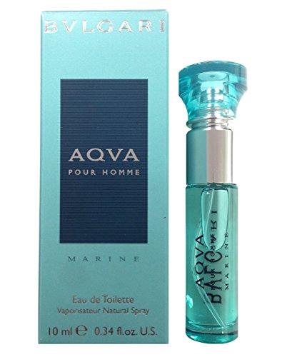 Aqva Marine (Aqva Marine Eau De Toilette Spray Mini for Women by Bvlgari, 0.33 Ounce)