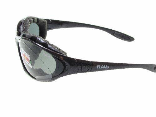 Ravs Sportbrille Kitesurf - Radsport Triathlonbrille Inkl. Softbag, Band, Bügel