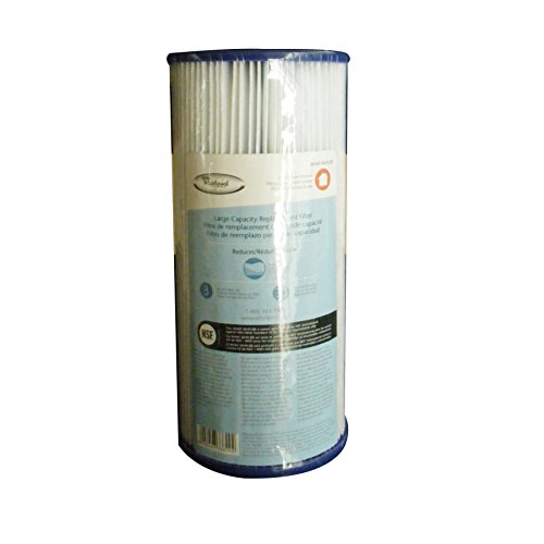 Whirlpool WHKF-WHPLBB Large Capacity 30 Micron Pleated Whole House Filter Cartridge