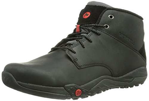 Merrell HELIXER MORPH FROST, Sneaker alta Uomo Nero (Black)