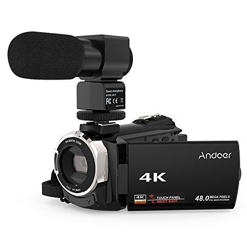 Review Video Camcorder, Andoer 4K