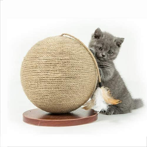 Rascar la pelota de juguete del gato del cojín bola redonda ...