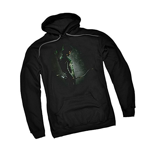 In The Shadows -- CW's Arrow TV Show Adult Hoodie Sweatshirt, Large