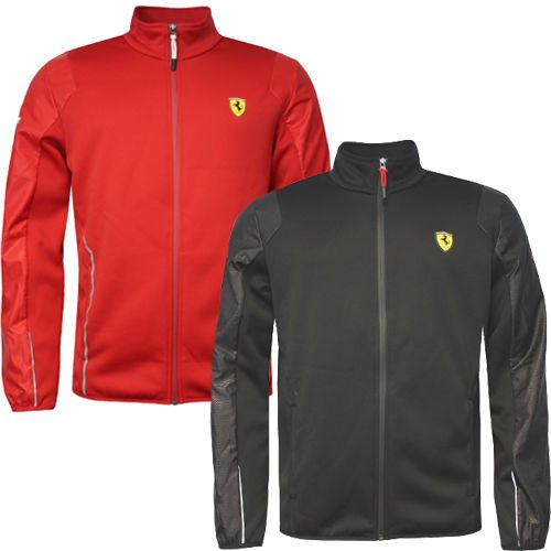 Ferrari Puma Softshell Jacket 761726 01-Men- black in vers. Größen