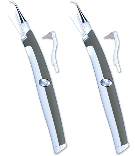 Sonic Pic Dental Cleaning System - 2 Pack - As Seen on TV (Dentist Pic)