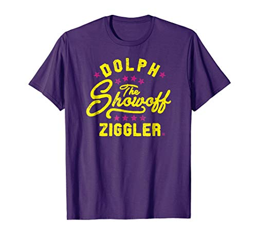 Mens WWE The Showoff Dolph Ziggler Fight Type 2XL Purple