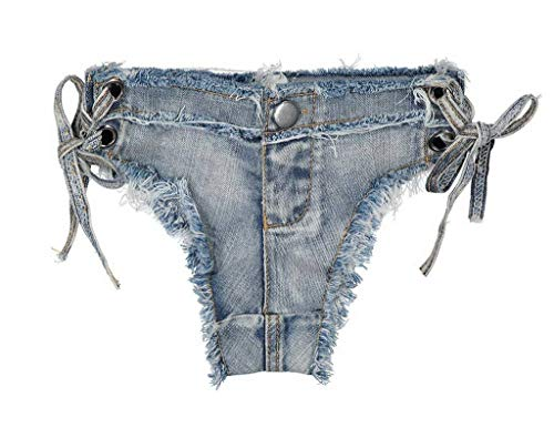Cut Donna Comvip Blue Off Vita Club Bassa Jeans Style10 Denim Bottino Sexy Thong AnBxwqB