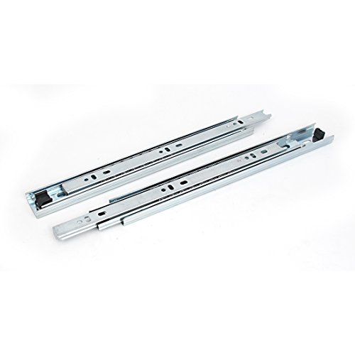 Uxcell a15070100ux0220 Pair 285mm Long 35mm Wide Cabinet Full Extension Ball Bearing Drawer Slides (Pack of 2) by uxcell