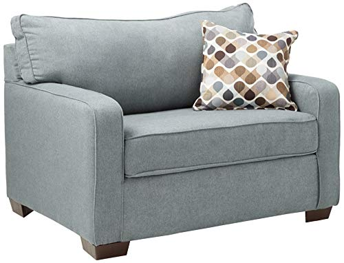 Lane Home Furnishings 9025-01M Mia Denim Sleeper Sofa, Mini