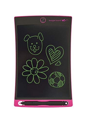 Boogie Board Jot 8.5 LCD Writing Tablet + Stylus Smart Paper for Drawing Note Taking eWriter (Pink)