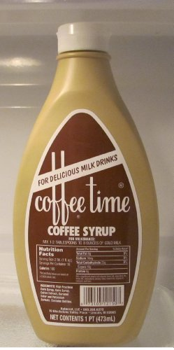 Coffee Time Coffee Syrup 1 Pint