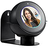 Echo Spot Adjustable Stand 360 Rotation Metal Aluminium Alloy Wall Stand Strong Magnetic Base (Black)